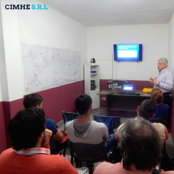 CIMHE brinda curso de capacitación para Escuela Técnica N 4