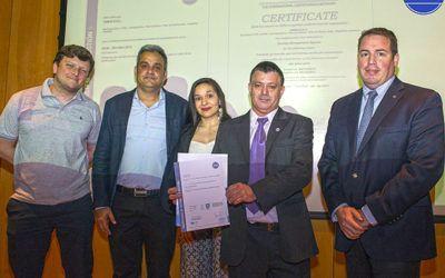 Certificación IRAM de CIMHE SRL