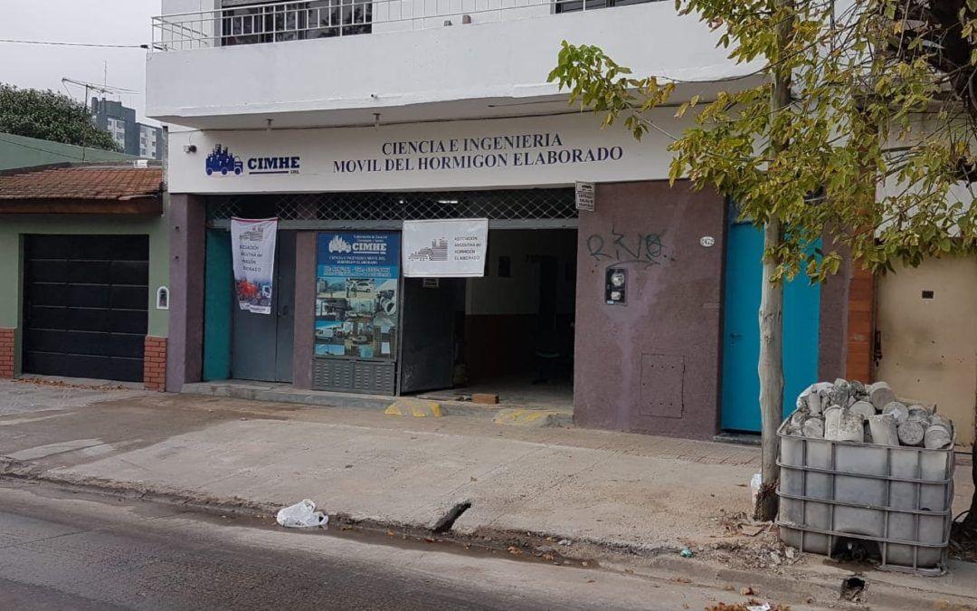 Inauguración del nuevo laboratorio de CIMHE en San Roque 2470, José Ingenieros
